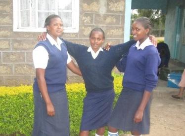 Naari girls March 2015 returning to school