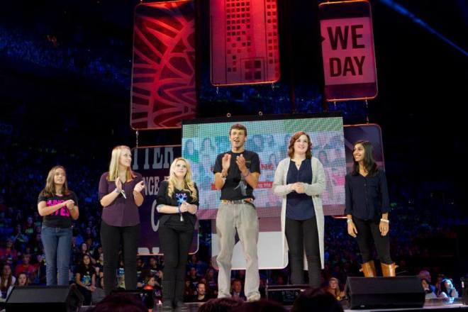 WE Day stage