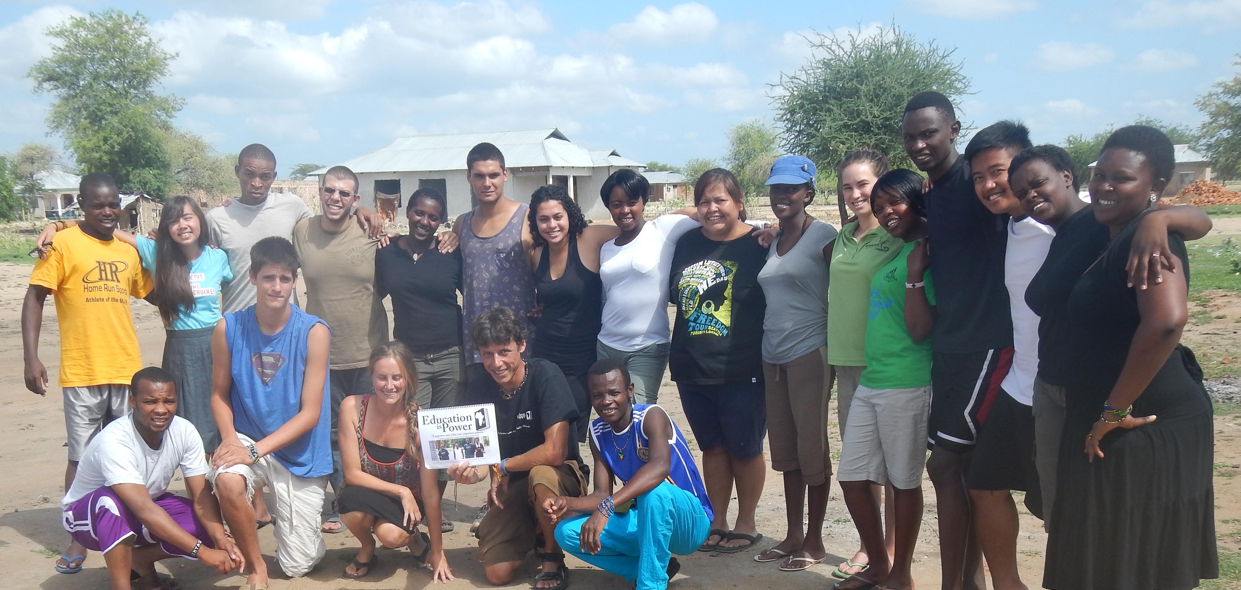 Tanzania cwy team 2014